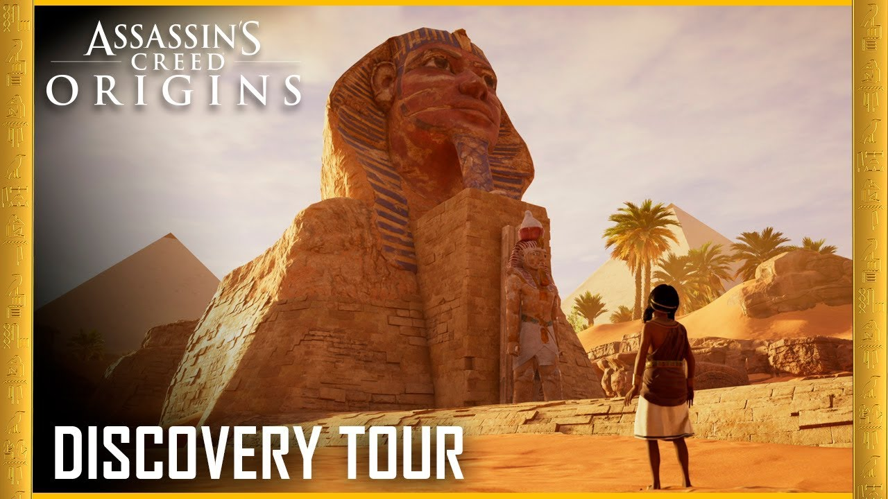 discovery tour mode of assassins creed origins ubisoft - 1280×720